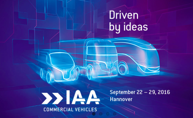 We will be present at the IAA in Hanover